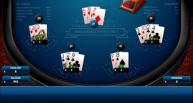 In the event of a draw, you recover the amount bet