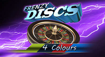 Frenzy Discs: 4 Colours