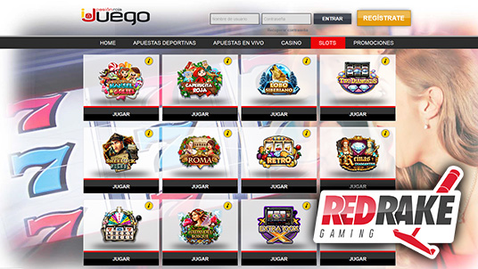 The Red Rake slot machines available on iJuego.es