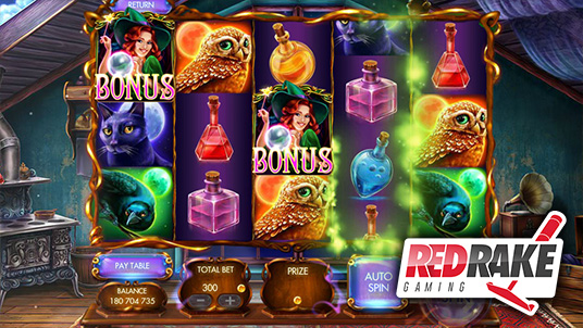 Red Rake releases Myrtle the Witch slot machine