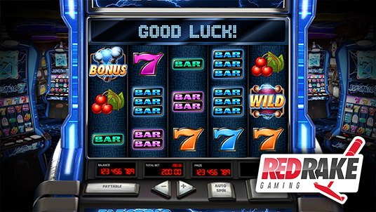 Electric Sevens! A new and spectacular video slot machine