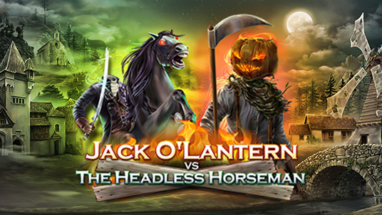 Jack O'Lantern and The Headless Horseman are spreading chaos