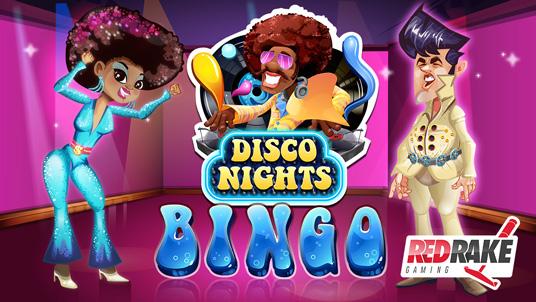 """Disco Nights"" the new Video Bingo by Red Rake"
