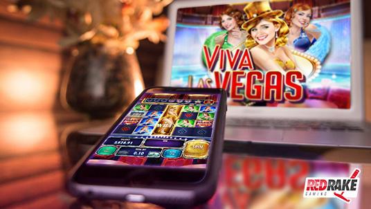 Viva Las Vegas, the new video slot by Red Rake Gaming!