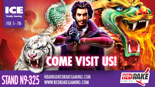 Red Rake Gaming: debut exhibition at ICE London 2019