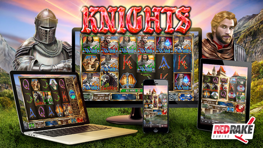 New video slot from Red Rake Gaming: KNIGHTS