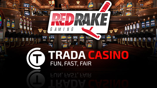 TradaCasino launches Red Rake Gaming to the UK Market