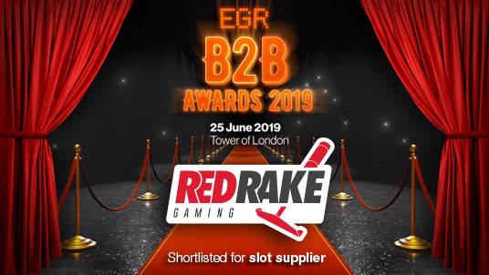 Red Rake Gaming, nominated for EGR B2B awards