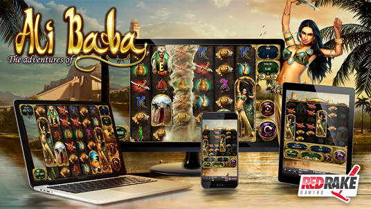 """""""The Adventures of Ali Baba"""", the new video slot from RRG"""