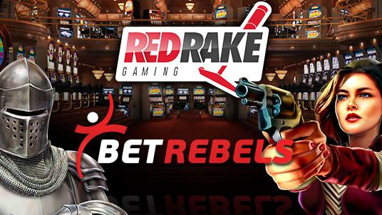 BetRebels chooses Red Rake Gaming