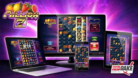 1 million ways to win with the new MILLION 7 video slot