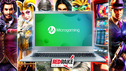 RRG signs content distribution agreement with Microgaming