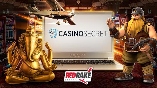 CasinoSecret partners with Red Rake Gaming