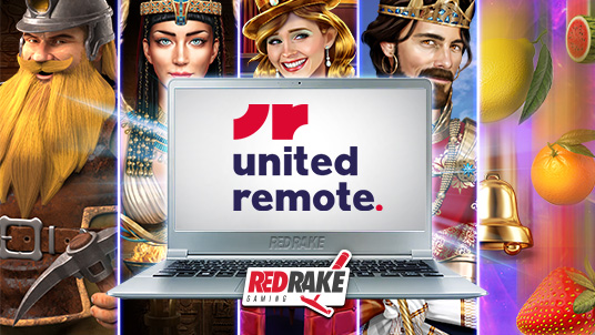 Red Rake Gaming partner with United Remote