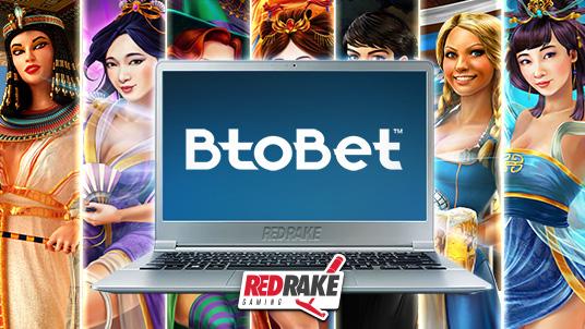 Red Rake Gaming partners with BtoBet