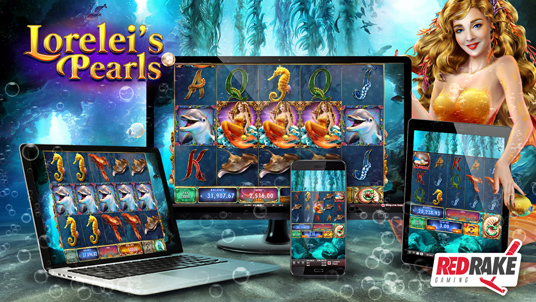 Immerse yourself in the waters of 'Lorelei's Pearls'
