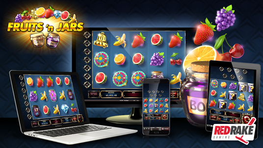 Fruits'n Jars, the new release from Red Rake Gaming