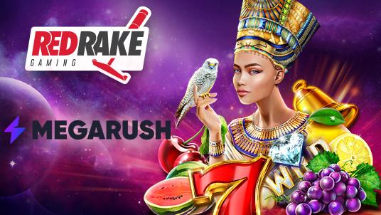 Red Rake Gaming partners with MegaRush Casino