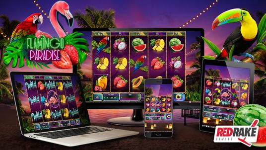 Red Rake Gaming releases Flamingo Paradise