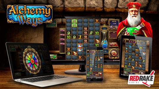 Alchemy Ways, the new slot game with 1 million ways to win