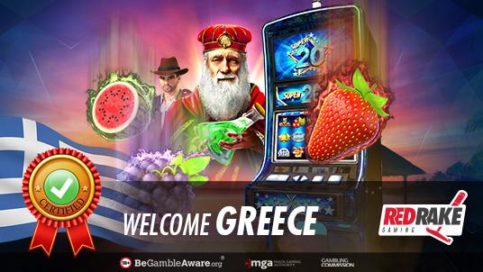 Red Rake Gaming awarded its Greek License
