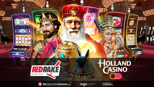Red Rake Gaming enters the Netherlands with Holland Casino