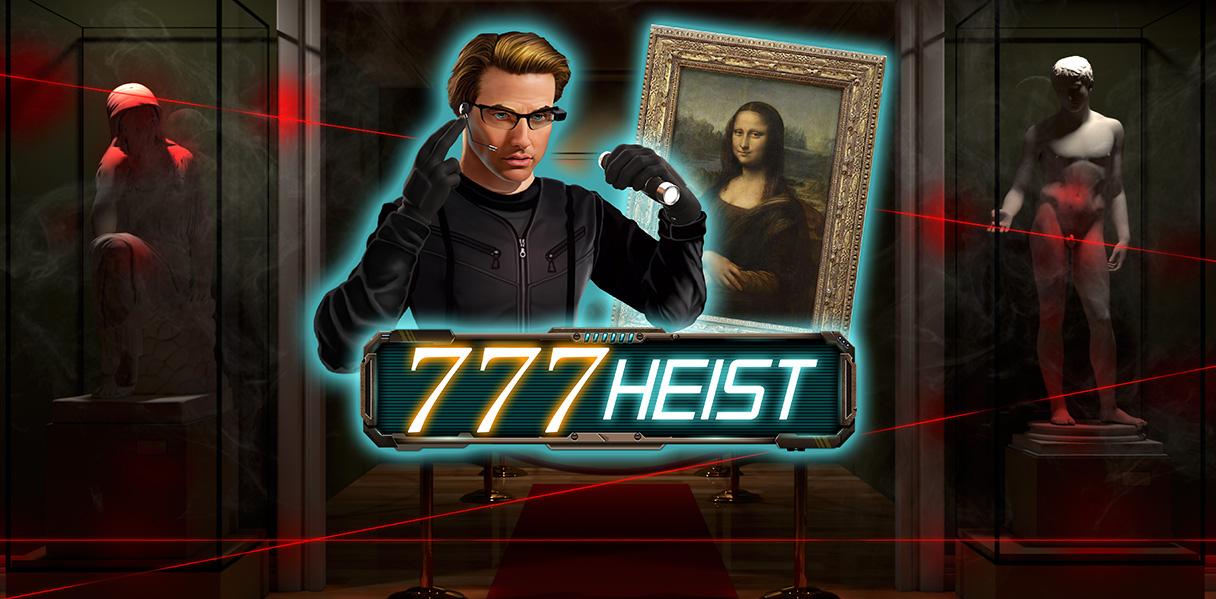 777 Heist Red Rake Gaming Games Slots