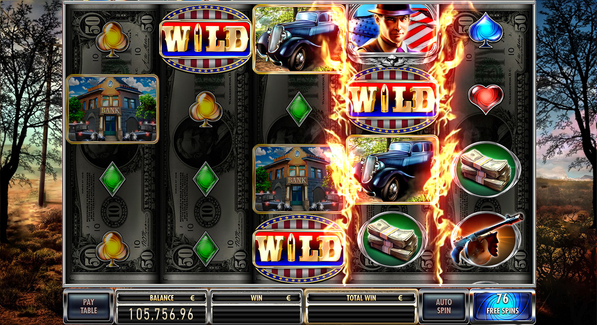 Spiele Bonnie & Clyde - Video Slots Online