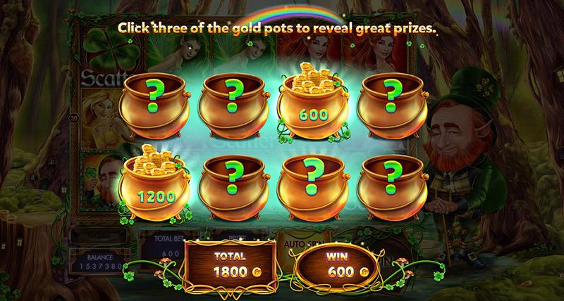 Gold Pot Minigame