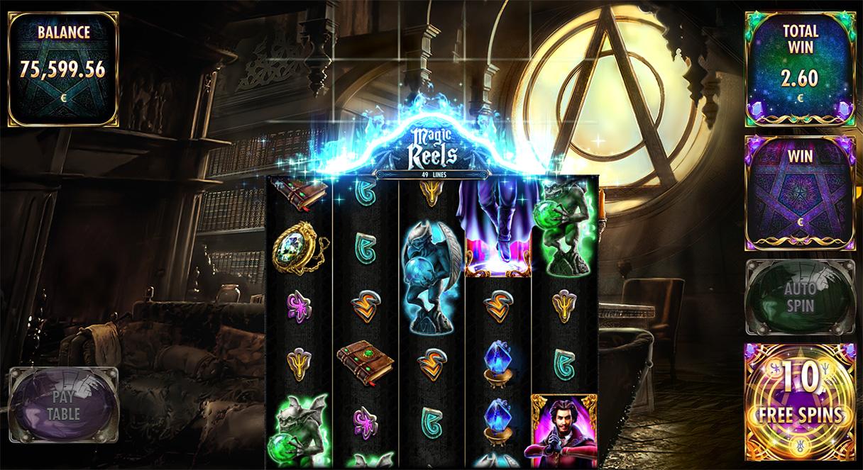 Magic Wilds Red Rake Gaming Games Slots