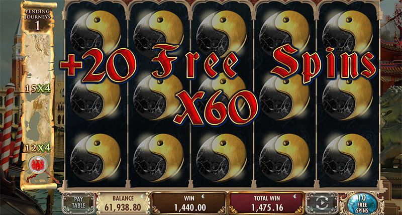 On a Trip (Free Spins)
