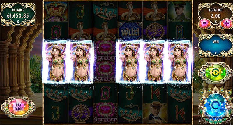 Mata Hari Free Spins Feature