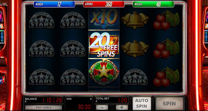 1 Reel Mini-Slot Symbols