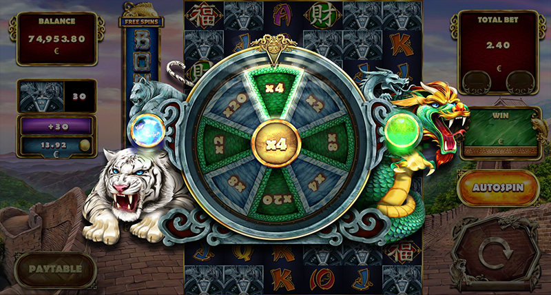 Tiger and Dragon Roulette