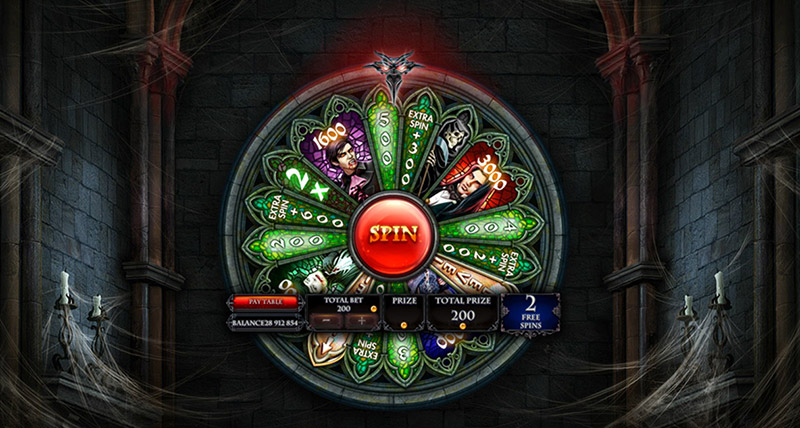 Crypt Wheel Bonus